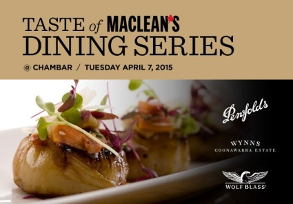 Taste of Maclean's Dining Series
