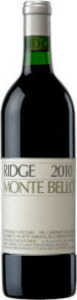 Ridge Vineyards 2011 Monte Bello