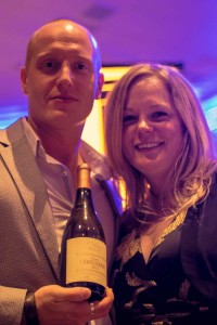 Victoria and Garett Westcott and their Westcott Estate Chardonnay 2013-9439