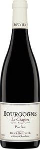 Domaine René Bouvier Bourgogne Pinot Noir Le Chapitre 2012