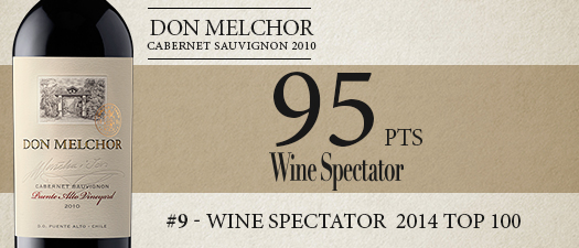 Concha Y Toro Don Melchor Cabernet Sauvignon 2010
