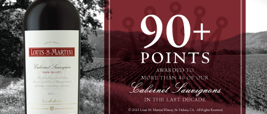 Louis M. Martini Napa Valley Cabernet Sauvignon 2012
