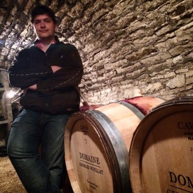 Maxime at Domaine Georges Noellat makes a killer Echezeaux