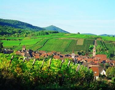 Le village de Riquewihr (www.hugel.com)