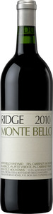 Ridge Vineyards Monte Bello 2010