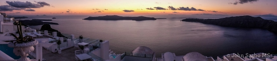 Sunset from Imerovigli, Santorini-0231
