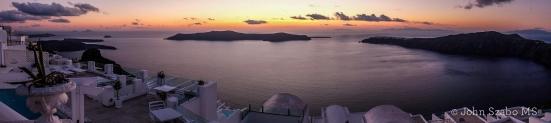 Sunset from Imerovigli, Santorini-0231