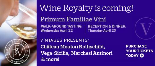 VINTAGES Presents: Primum Familiae Vini