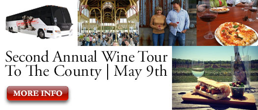 WineAlign PEC Bus Tour