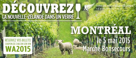 Festival des Vins de Nouvelle-Zélande - Montréal
