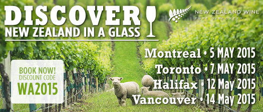 New Zealand in a Glass - Canadian Tour