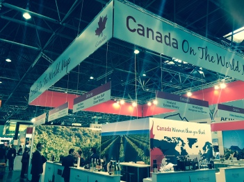 Canada - On The World Map - ProWein 2015
