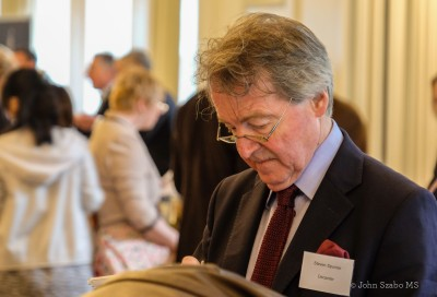 Decanter Editor Steven Spurrier, tasting intently-2156