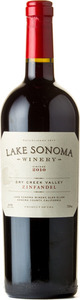 Lake Sonoma Winery Dry Creek Valley Zinfandel 2010