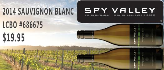 Spy Valley Sauvignon Blanc 2014