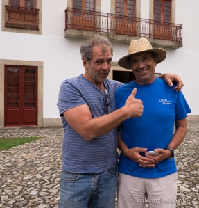 WineAlign's Bill Zacharkiw gives the Thumbs Up to Alvaro Castro in Viseu, Dão-3708