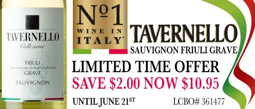 Tavernello Collezione Friuli Grave Sauvignon 2013