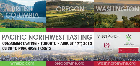 Pacific Northwest Tasting - Aug 17th