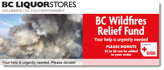 BC Wildfires Relief Fund