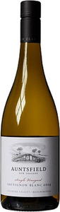 Auntsfield Single Vineyard Sauvignon Blanc 2014