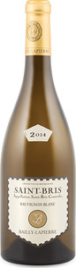 Bailly Lapierre Saint Bris Sauvignon Blanc 2014