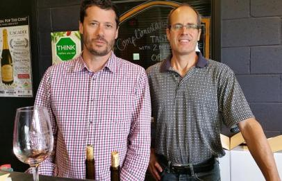 Godello and Bruce Ewart of L'Acadie Vineyards