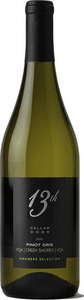 13th Street Cellar Door Members Selection Pinot Gris 2012