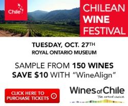 Chilean Wine Festival - Oct 27