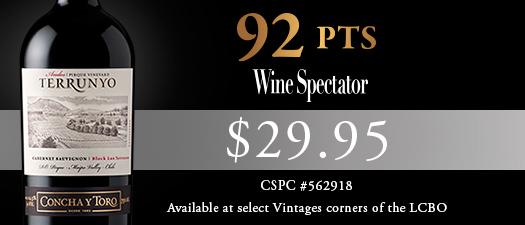 Concha Y Toro Terrunyo Andes Pirque Vineyard Cabernet Sauvignon 2012
