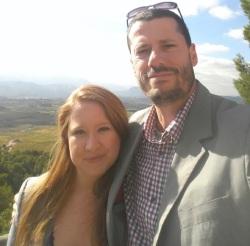 Sara d'Amato and Michael Godel