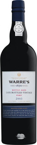 Warre's LBV Bottle Aged Port 2003
