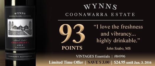 Wynns Connawara Black Label Cabernet