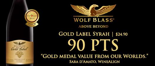Wolf Blass Gold Label Syrah