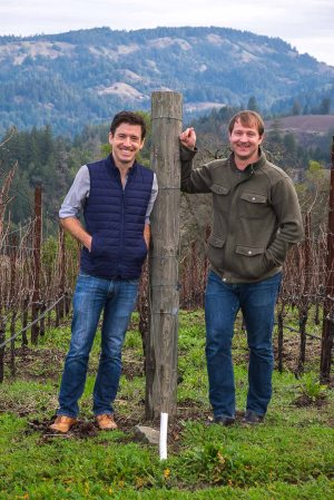 Greg Miller and Dave Keatly, Trade and Press Inquiries and Director of Winemaking, respectively-4035
