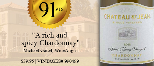 Chateau St. Jean Robert Young Chardonnay 2012