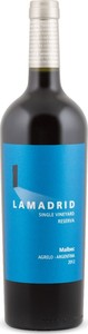 Lamadrid Single Vineyard Reserva Malbec 2012