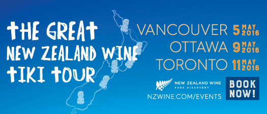The Great New Zealand Wine Tiki Tour - Vancouver 2016