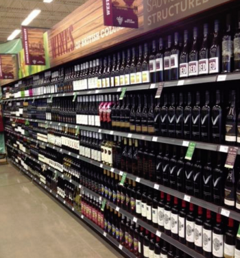 BC Wines in Grocery Stores