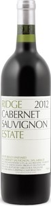 Ridge Estate Cabernet Sauvignon 2012