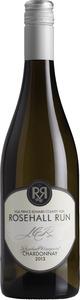 Rosehall Run J C R Rosehall Vineyard Chardonnay 2013