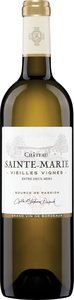 Château Sainte Marie Vieilles Vignes Entre Deux Mers 2015