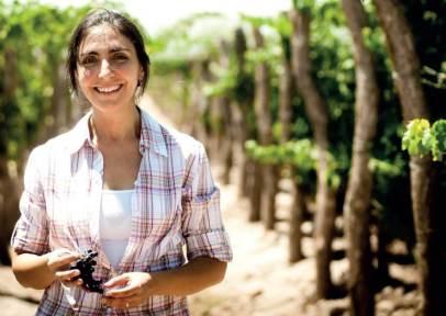 Winemaker Silvia Corti