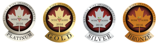 Results from the 2016 National Wine Awards of Canada