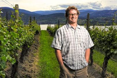 Garron Elmes - Lake Breeze winemaker