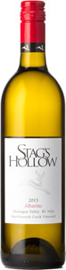 Stag's Hollow Albarino Shuttleworth Creek Vineyard 2015