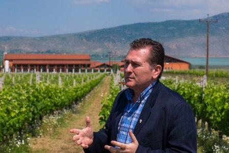 Winemaker Angelos Iatridis of Alpha Estate in Northern Greece-5276