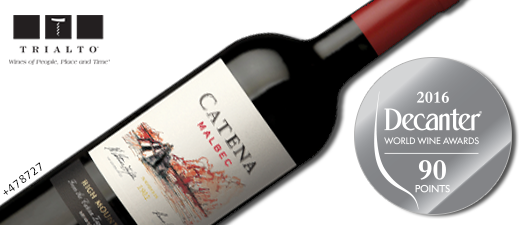 Catena Malbec High Mountain Vines 2014