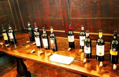 Selection of Gran Selezione Chianti Classico at the Convento di Santa Maria al Prato