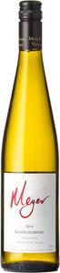 Meyer Gewurztraminer Mclean Creek Road Vineyard 2014