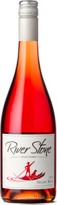 River Stone Estate Winery Malbec Rose 2015